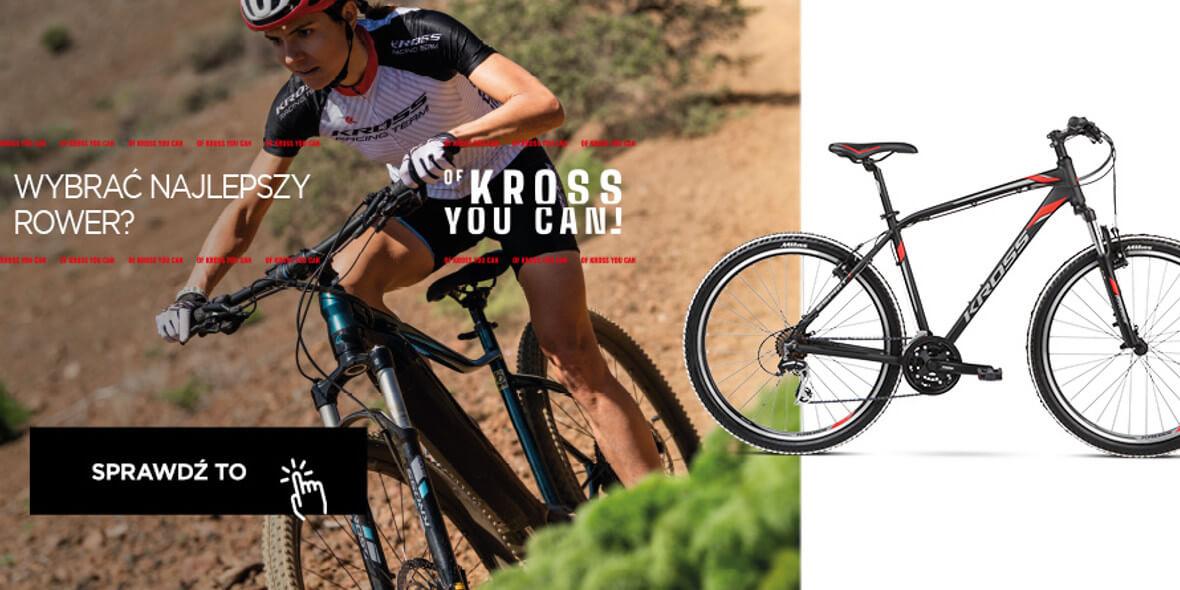 Go Sport: Od 199,99 zł za rowery 06.05.2021