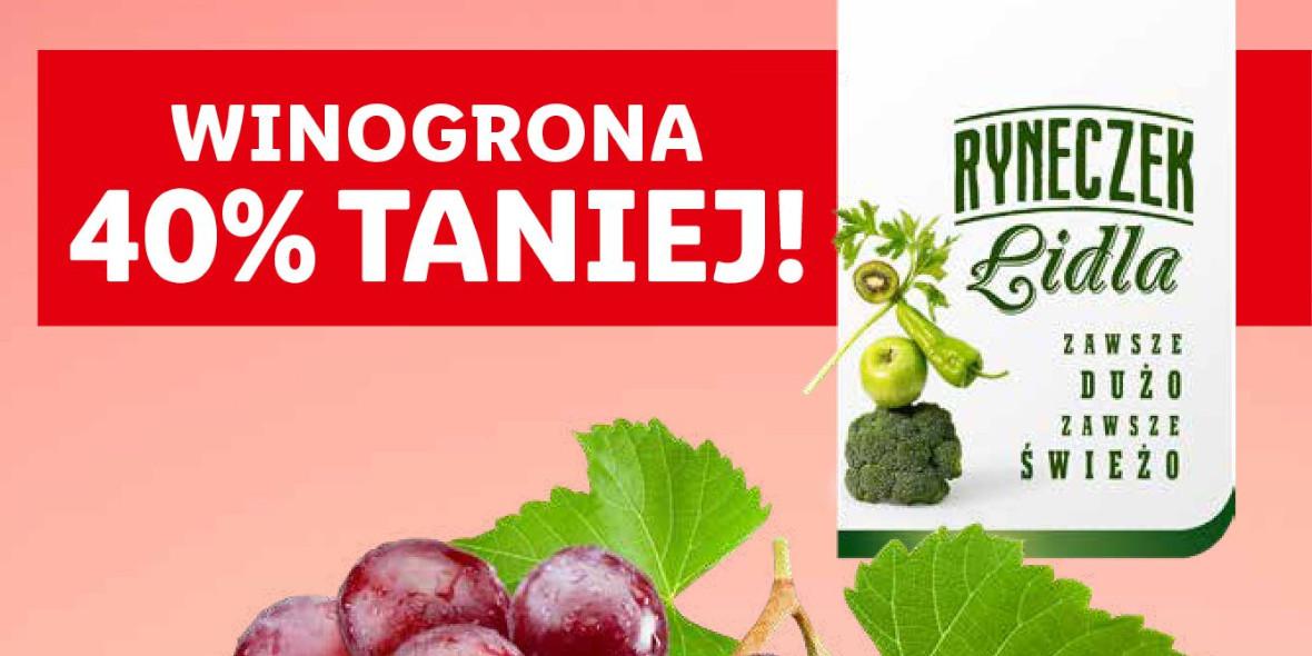 Lidl: -40% na winogrona 18.10.2021