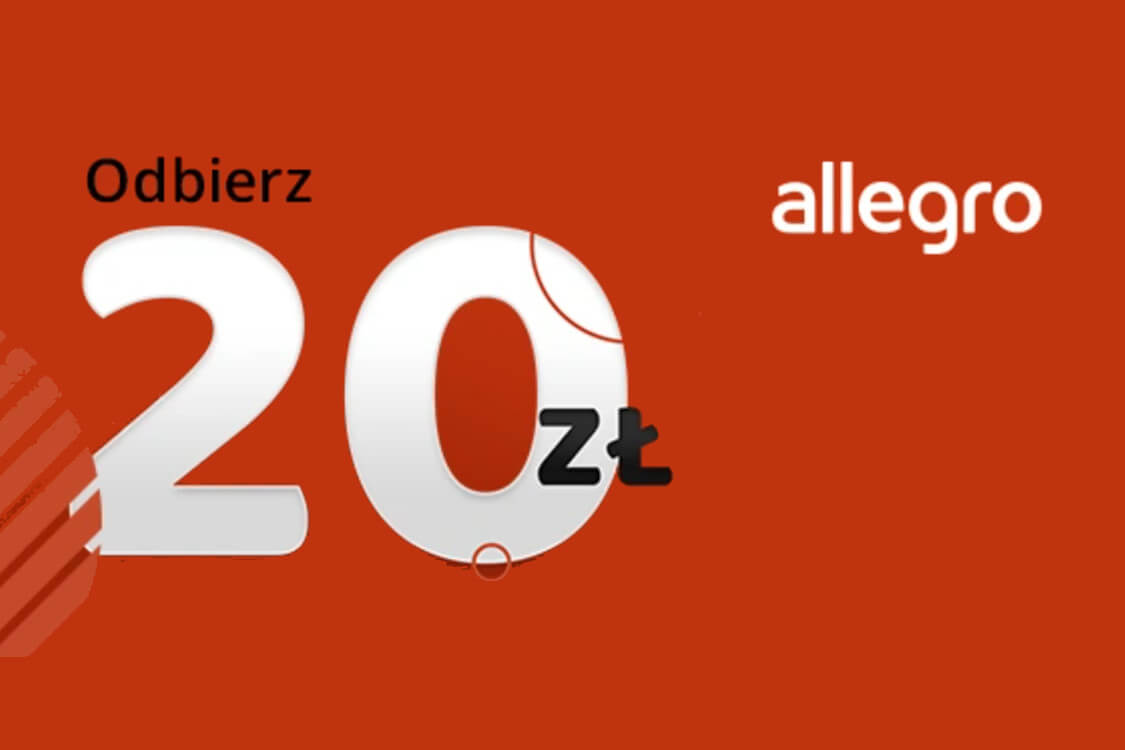 Allegro.pl: Kupon -20 zł dla nowych lub powracających użytkowników