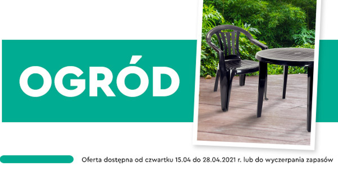Biedronka:  Produkty do ogrodu 15.04.2021
