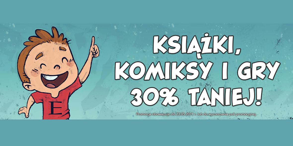 Egmont.pl:  -30% na książki, komiksy i gry 01.01.0001