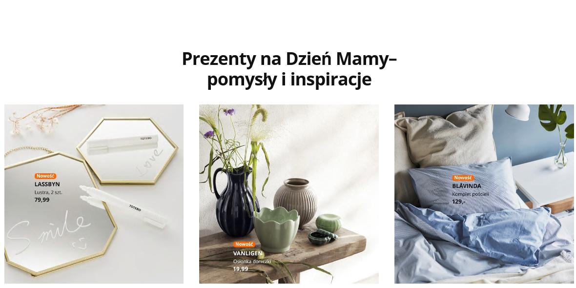 IKEA: Pomysły i inspiracje na prezenty z okazji Dnia Mamy 07.05.2021