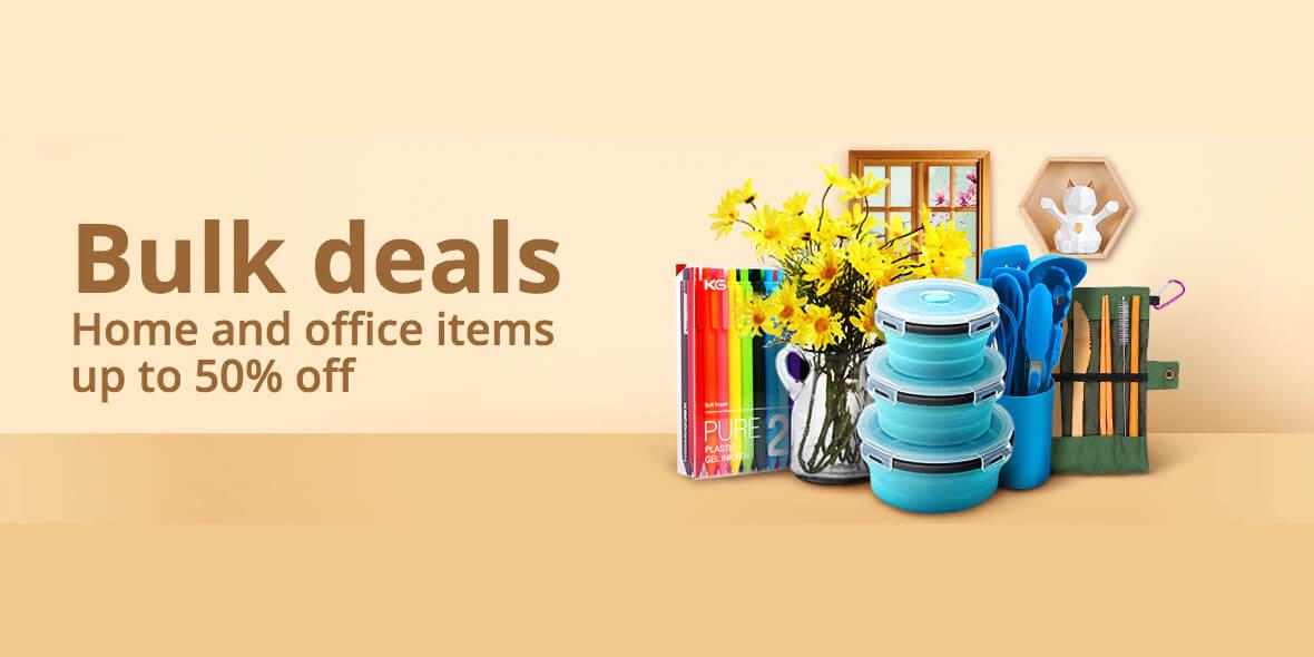 AliExpress: Do -50% na produkty do domu i biura 01.03.2021