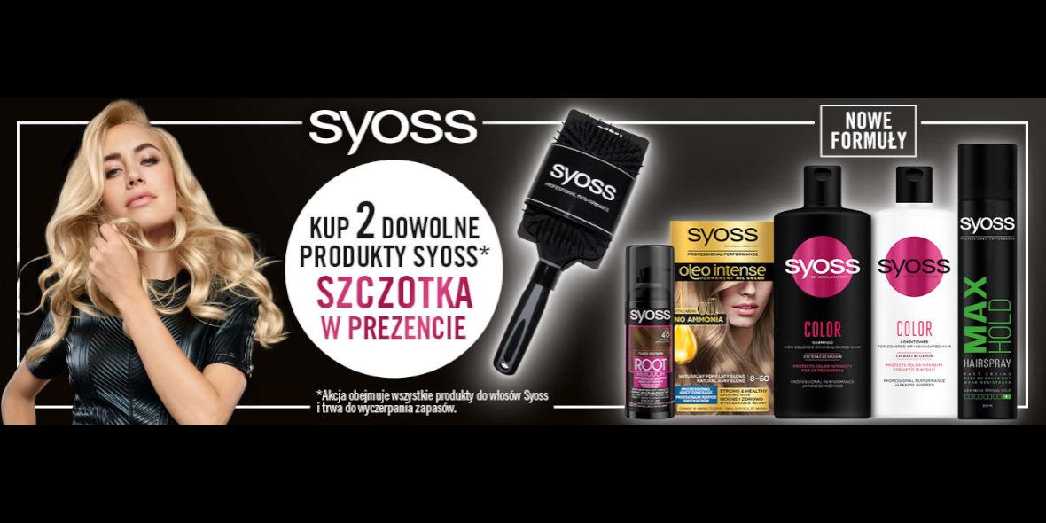Rossmann: Prezent przy zakupie produktów Syoss 01.01.0001