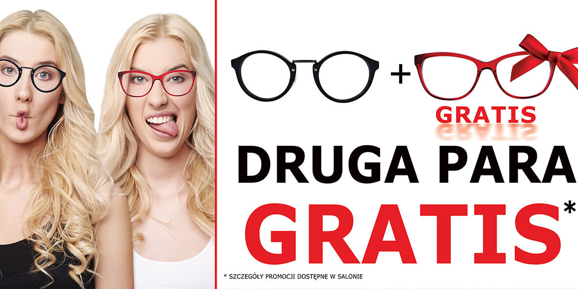 Paris Optique: Gratis druga para 01.01.0001