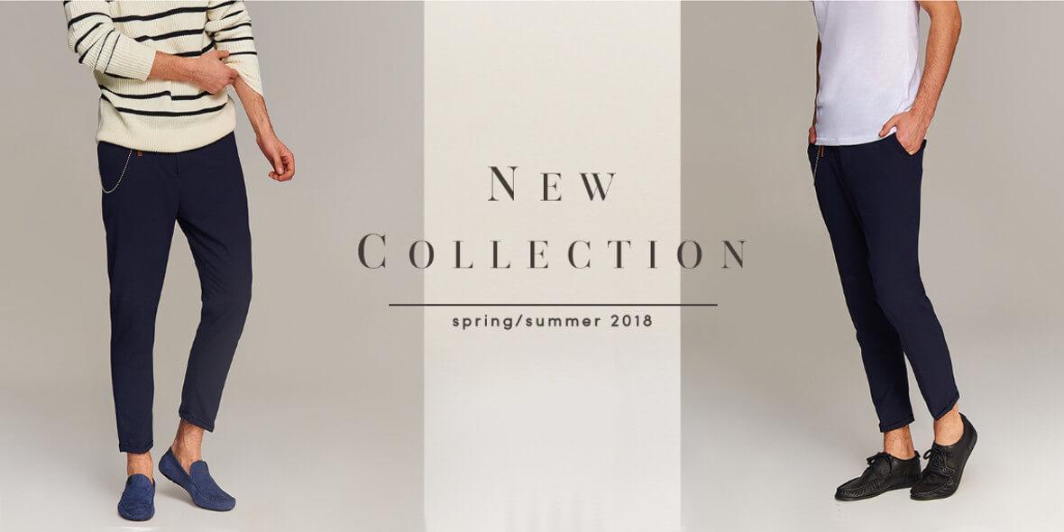 Kolekcja spring/summer 2018 dla Niego