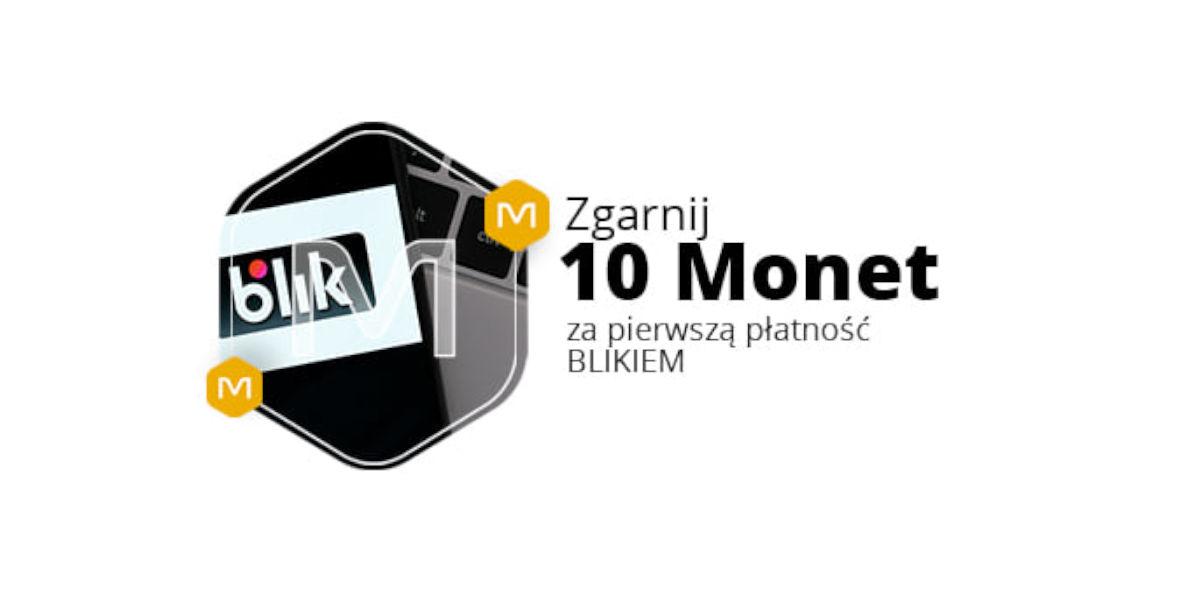 Allegro: +10 Monet za pierwszą płatność BLIKIEM 24.06.2021