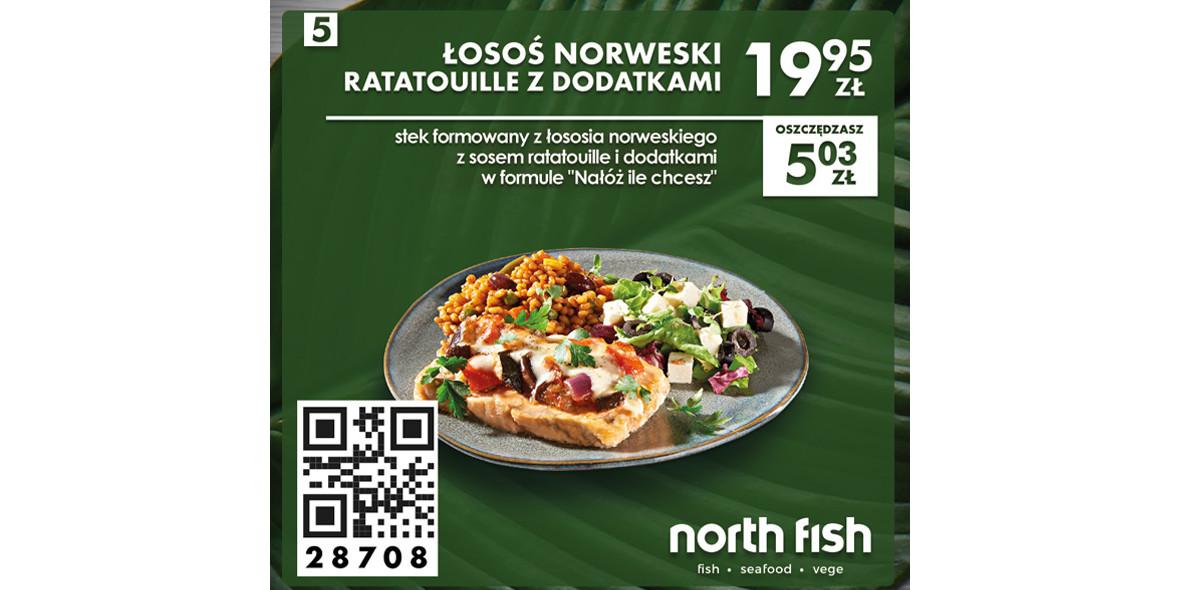 Łosoś norweski ratatouille z dodatkami