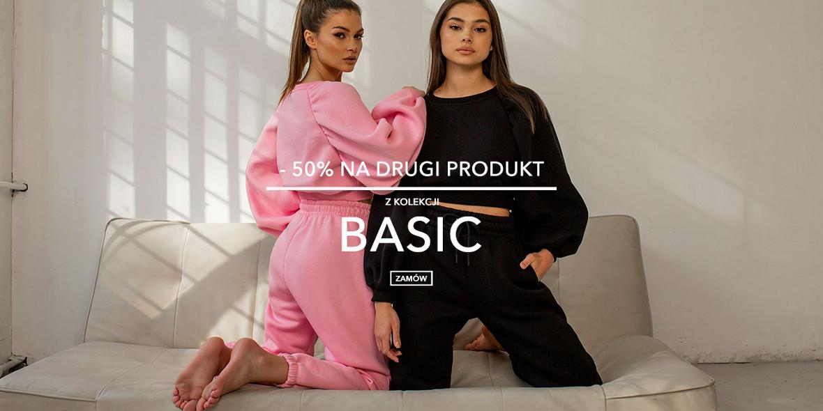 Butik I like!:  -50% na drugi produkt z kolekcji Basic 22.10.2021