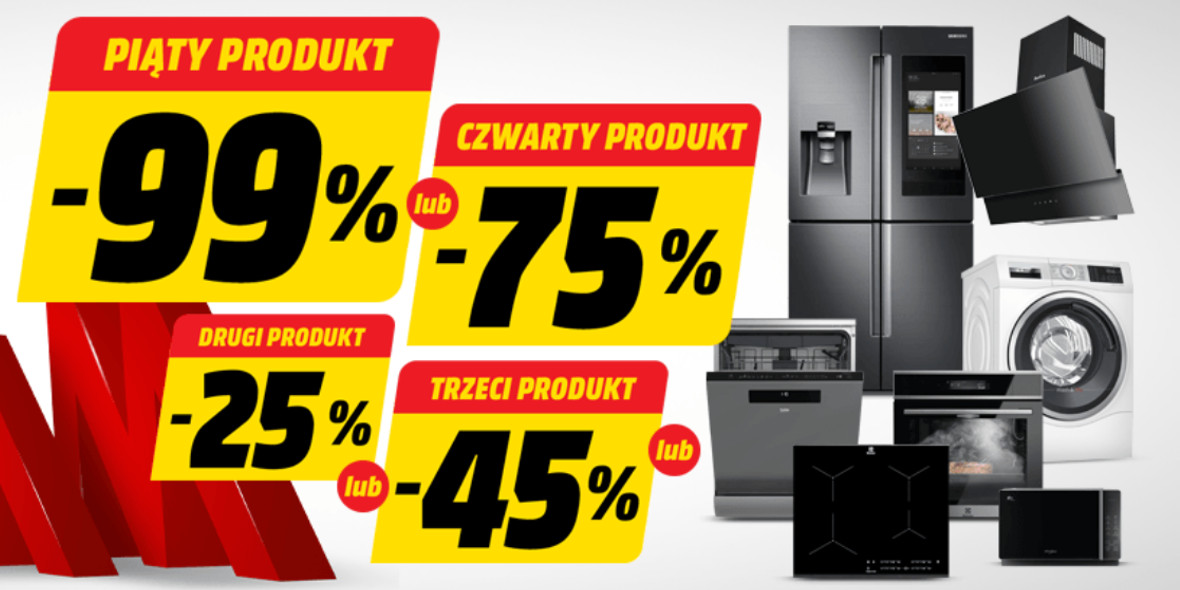 Media Markt: Do -99% na wybrane AGD 04.03.2021