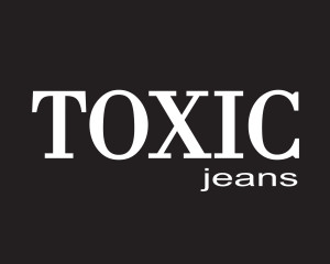 Logo Toxic Jeans