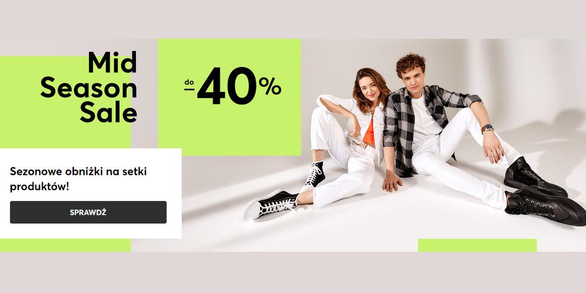 eobuwie.pl: Do -40% na Mid Season Sale 28.04.2021