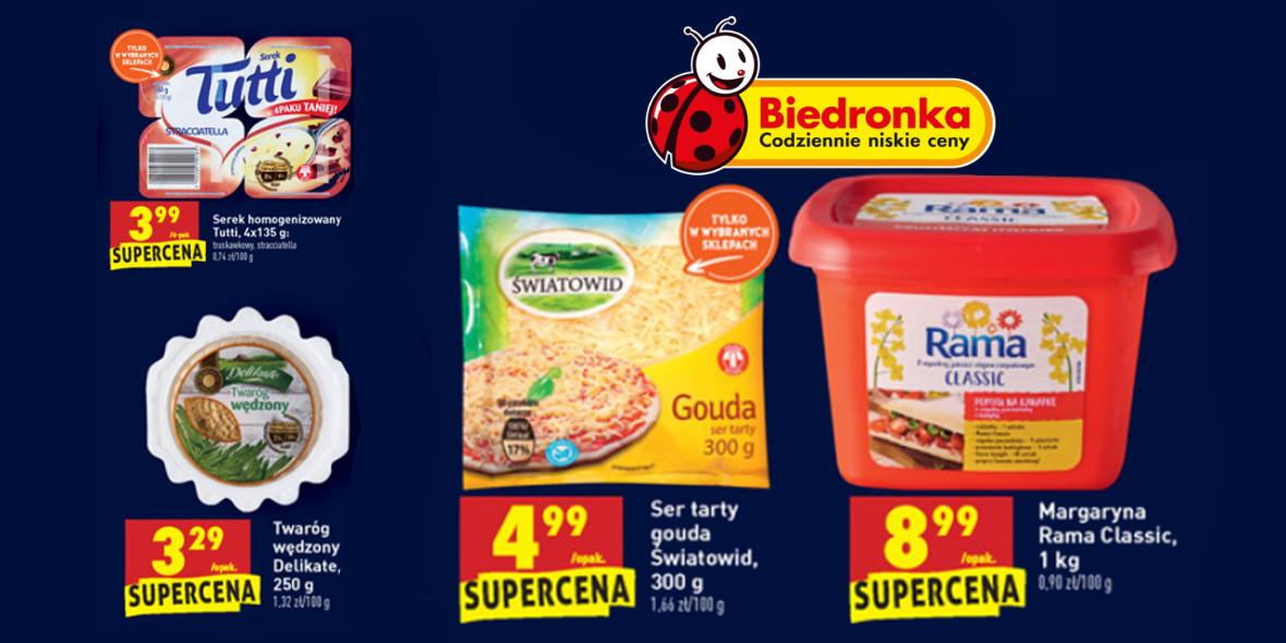 Biedronka:  Produkty na śniadanie 21.01.2021
