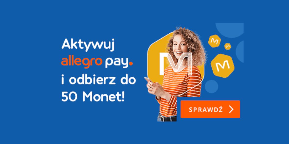 Allegro: Do 50 Monet za aktywację Allegro Pay 18.10.2021