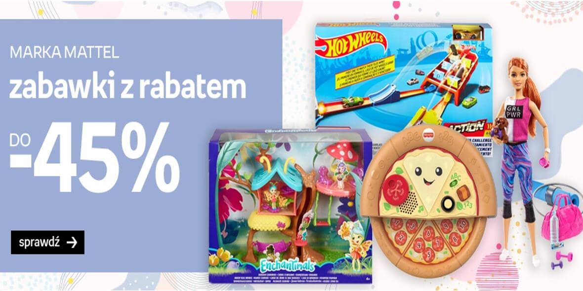 Empik: Do -45% na zabawki Mattel