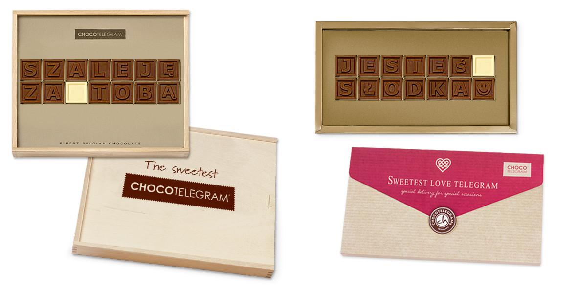 Chocolissimo: Wyślij własny ChocoTelegram w Chocolissimo!