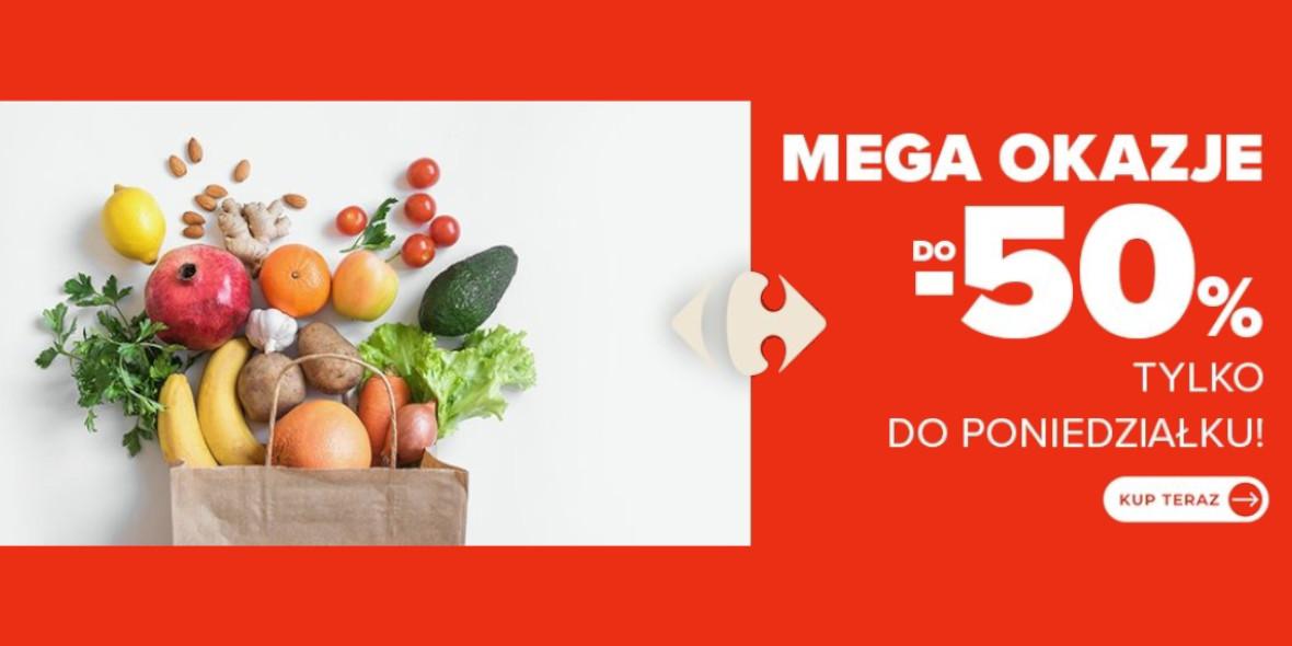 Carrefour: Do -50% Weekendowy Targ Świeżości 18.09.2021