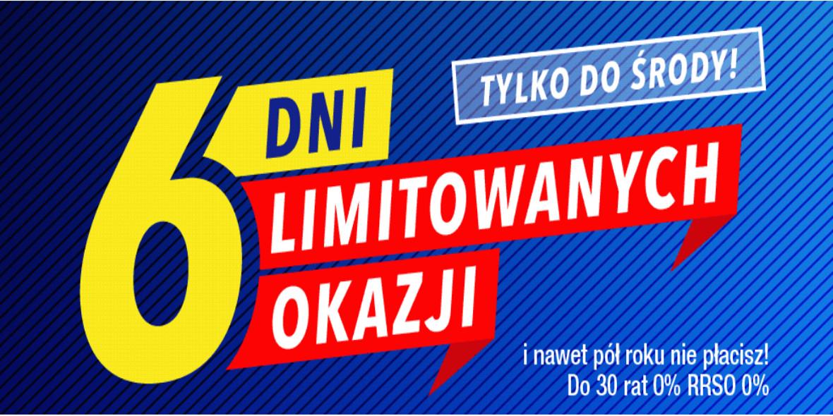 RTV EURO AGD: Do -1000 zł na limitowane okazje 24.09.2021