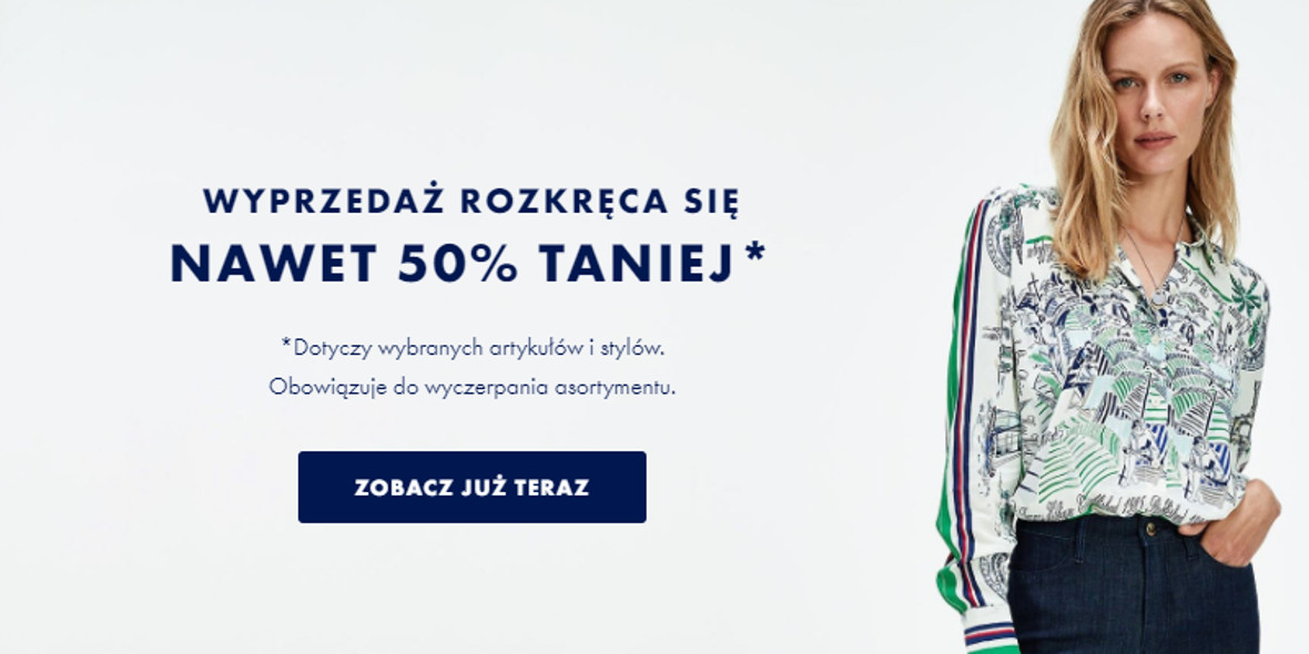 Tommy Hilfiger: Do -50% na wybrane produkty