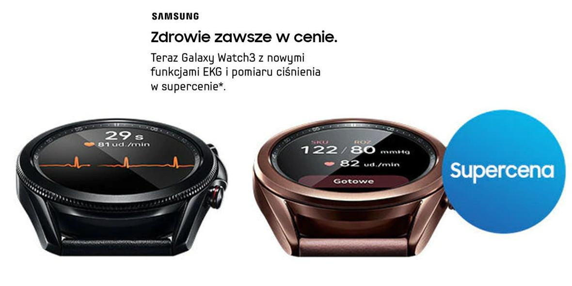 Vobis: Galaxy Watch3 w super cenie