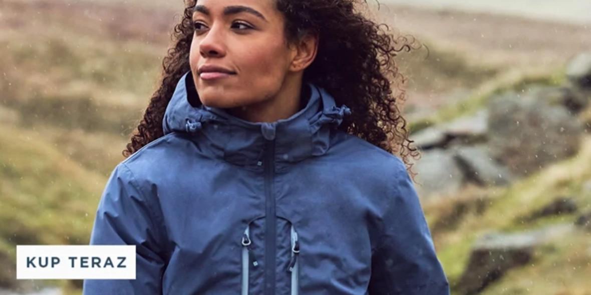 Mountain Warehouse: Do -60% na kurtki przeciwdeszczowe