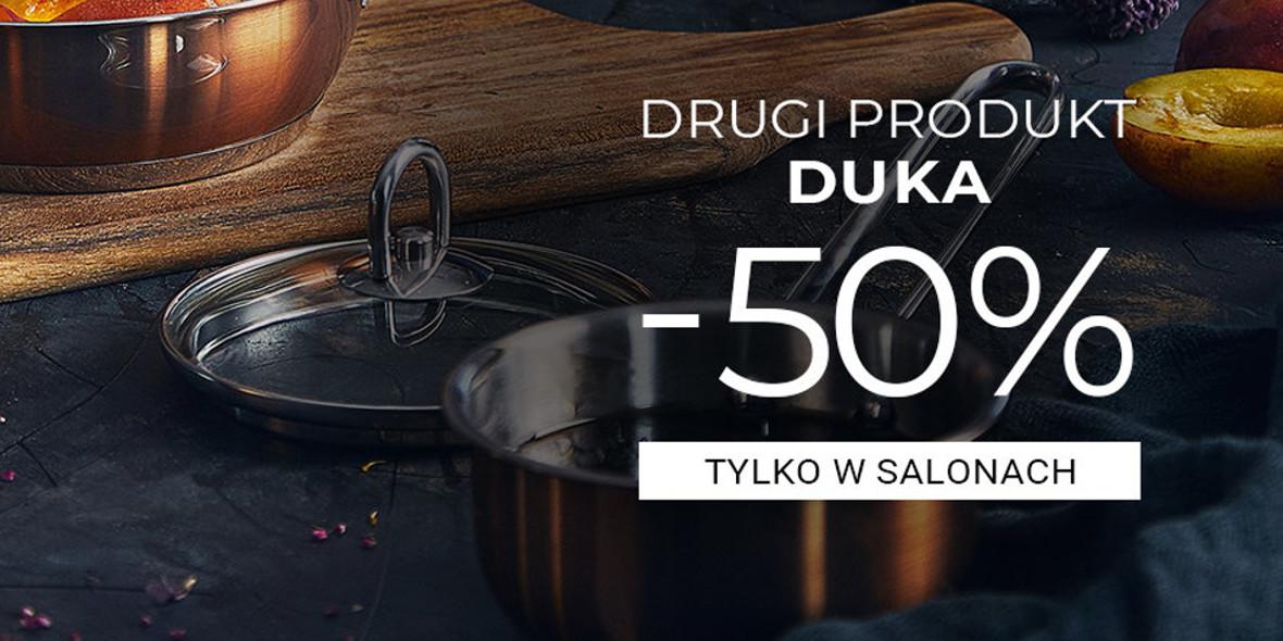 Duka: -50% na drugi produkt DUKA 01.01.0001