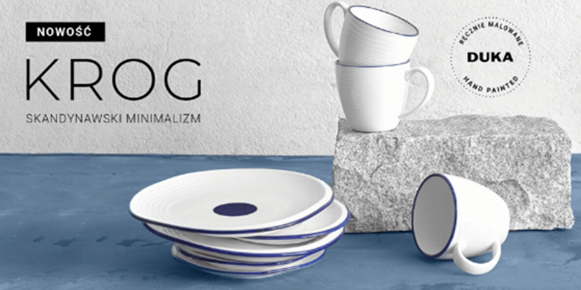 DUKA KROG - Skandynawski minimalizm