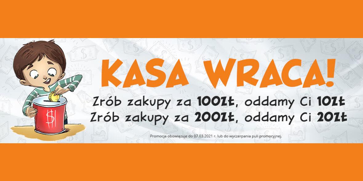 Egmont.pl:  Egmont - Oddajemy kasę 01.03.2021