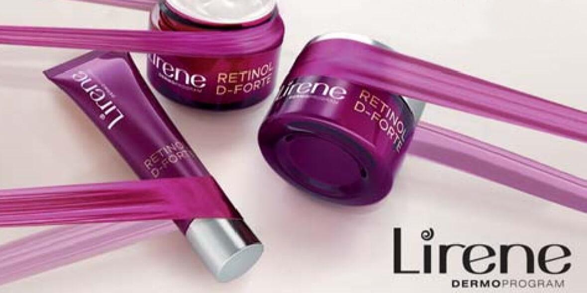 na kosmetyki z linii Lirene Retinol D-Forte