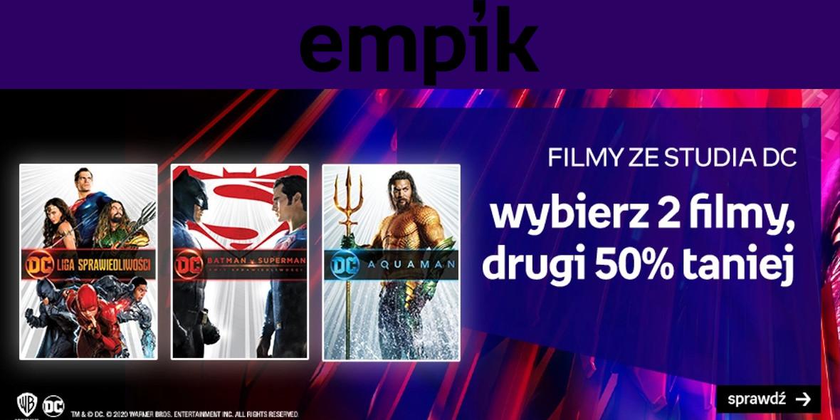 Empik: -50% na drugi film za studia DC 18.01.2021