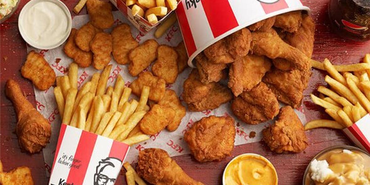 KFC:  Nowe kupony KFC 27.06.2021