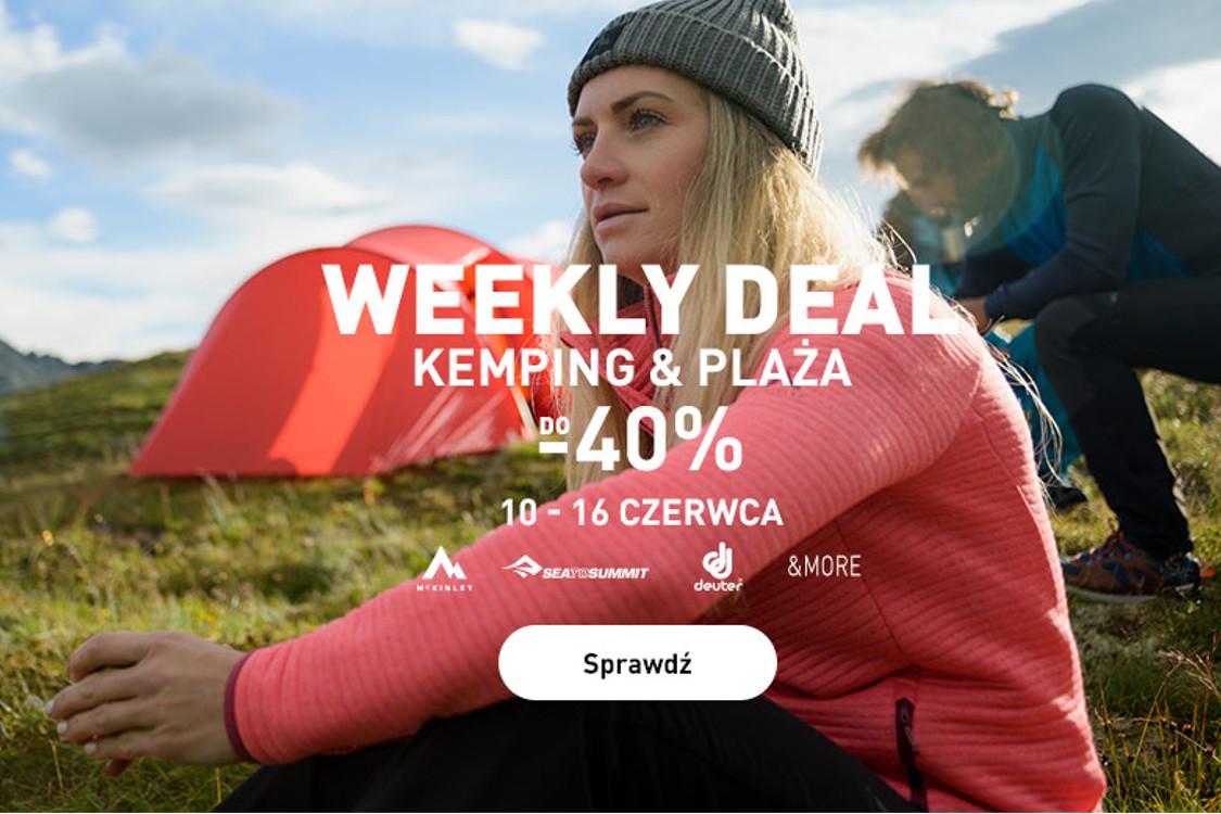 Intersport: Do -40% na kemping i plażę
