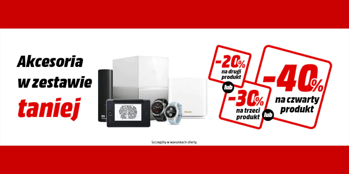 Media Markt: Do -40% na wybrane akcesoria 12.04.2021