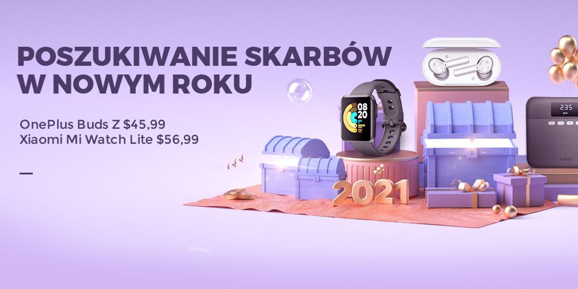 Gearbest.com:  Najlepsze oferty na elektronikę 22.01.2021