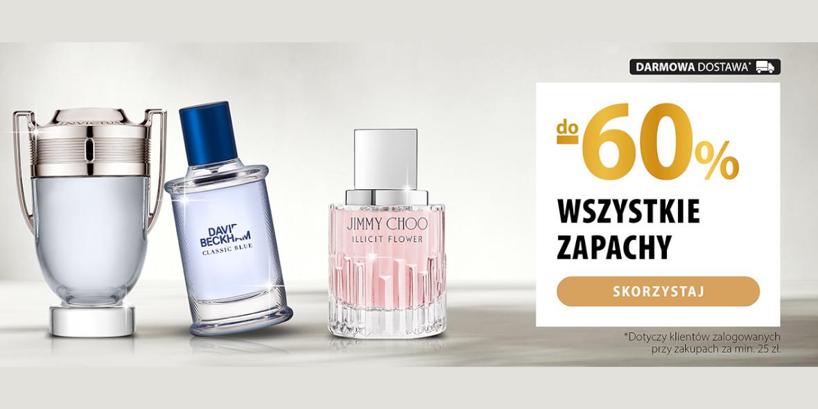 hebe: Do -60% na wszystkie perfumy 14.10.2021