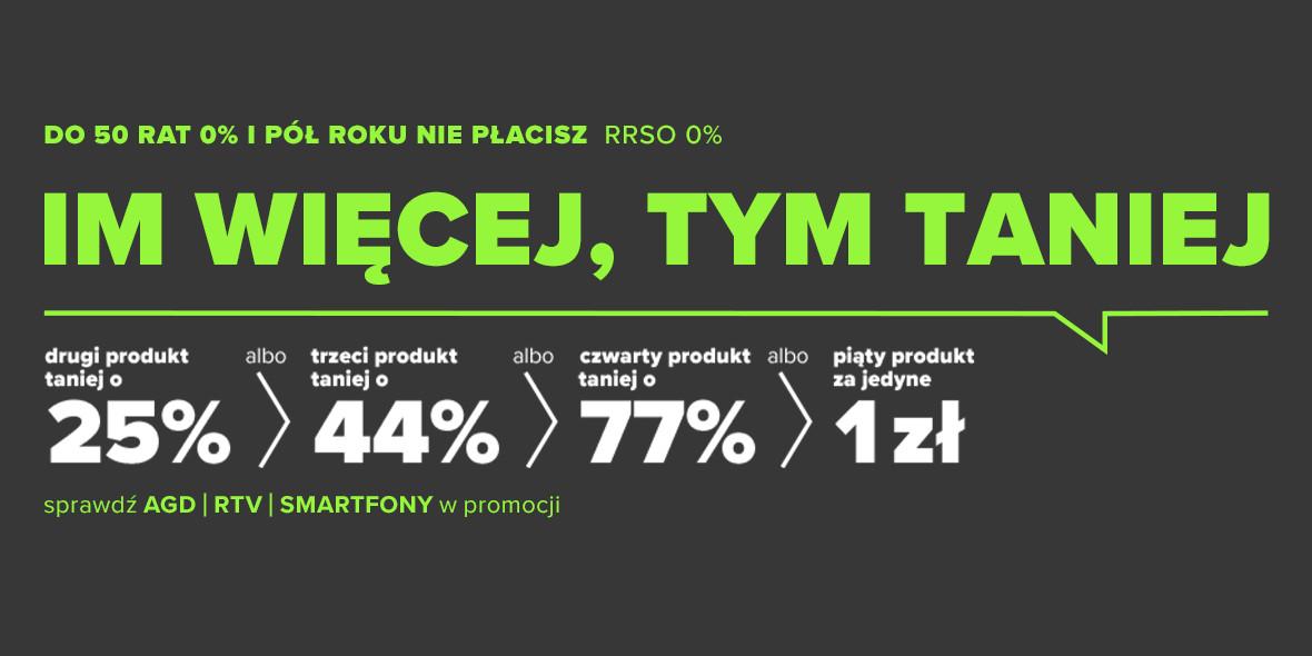 Neonet: 1 zł za piąty produkt 13.05.2021