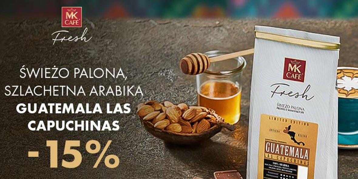 MK Cafe: -15% na kawę miesiąca