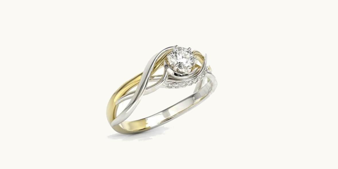 na pierścionki z brylantami