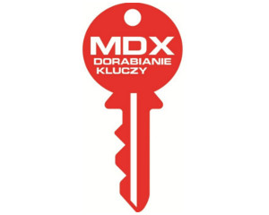 Logo MDX DORABIANIE KLUCZY