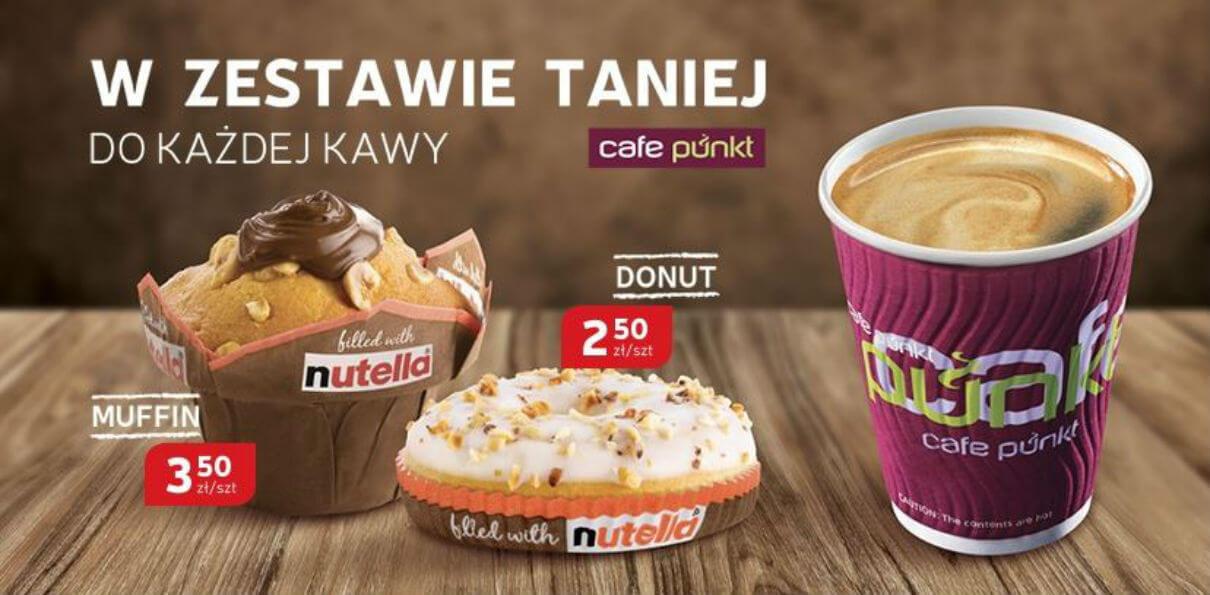 Muffiny i Donuty Nutella