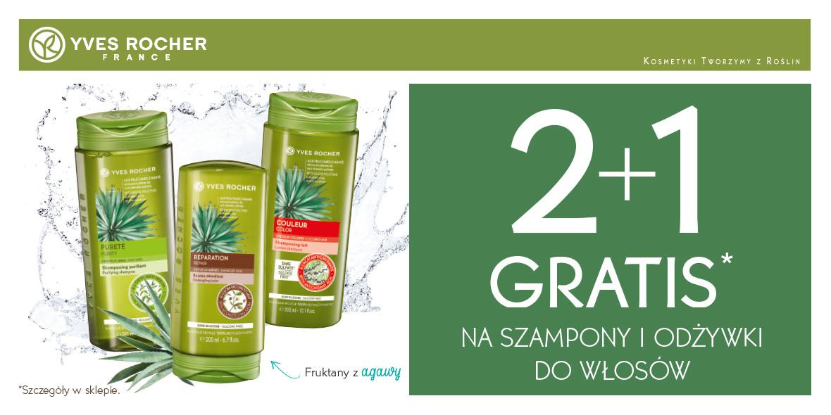gratis na szampony i odżywki do włosów