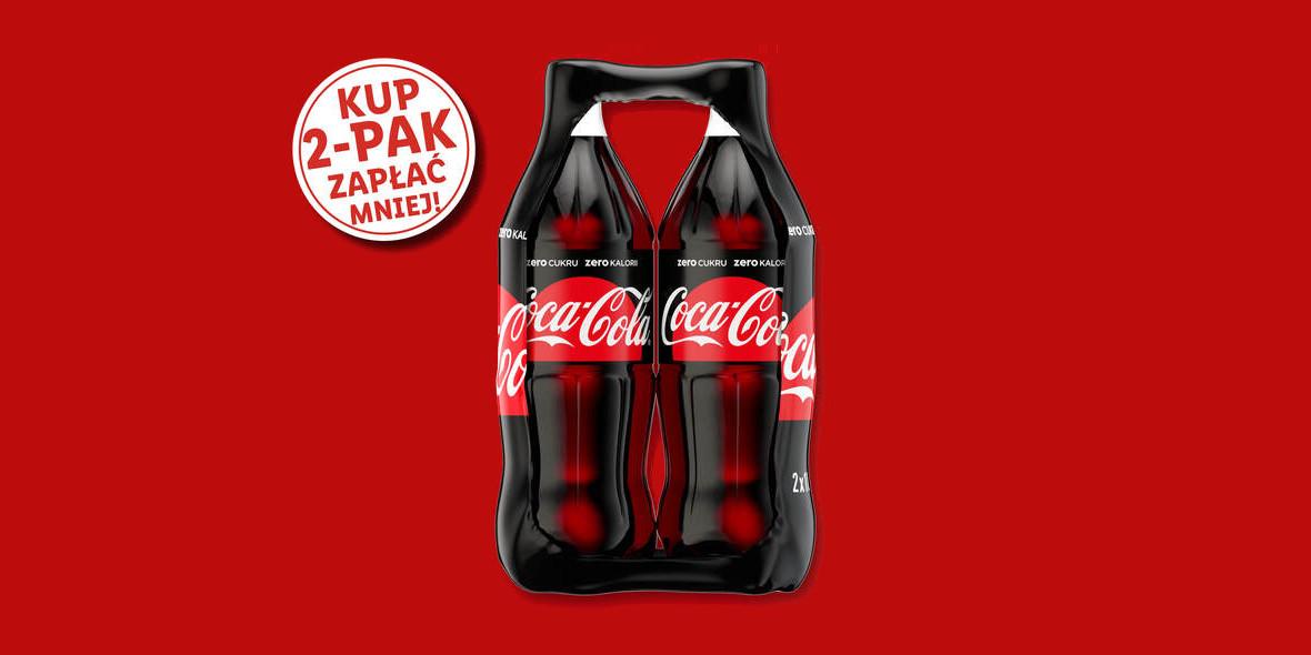 Lidl: 3,49 zł za napój Coca-Cola 04.03.2021