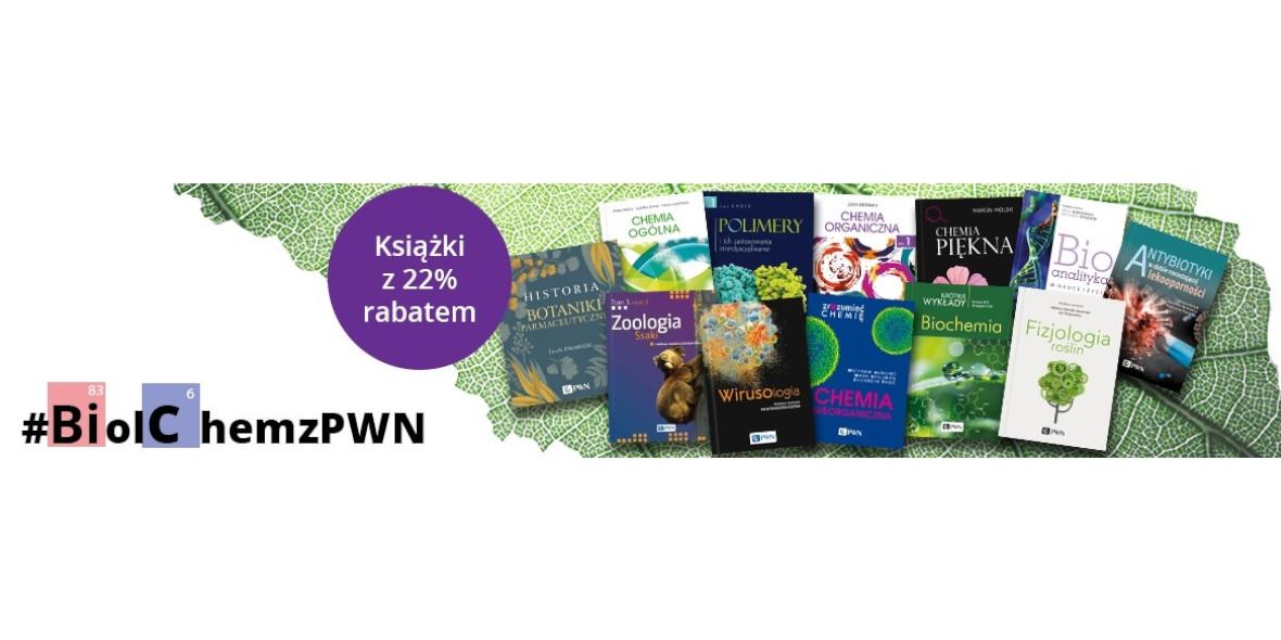 Księgarnia Internetowa PWN: -22% na wybrane książki 07.10.2021