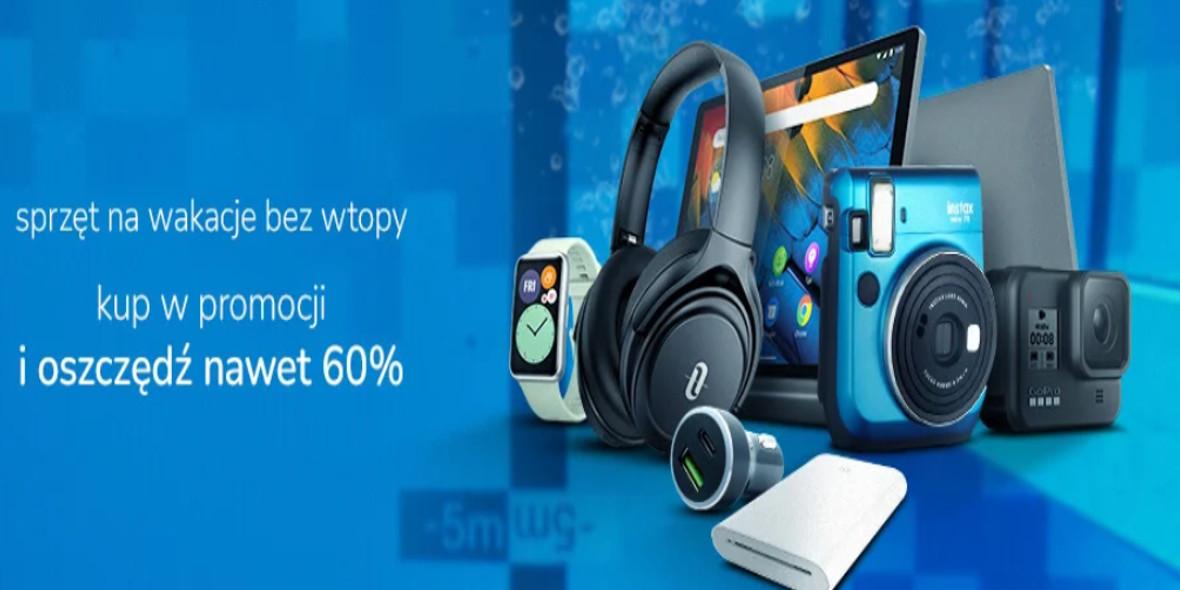 X-Kom.pl: Kod do -60% na sprzęt na wakacje 30.06.2021