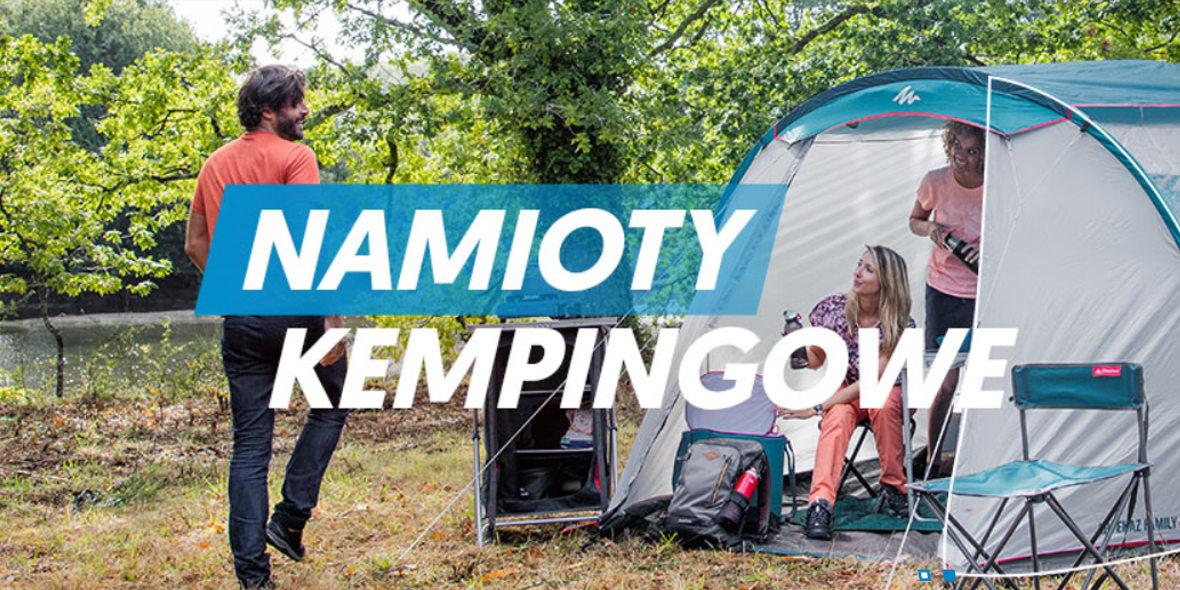 za namioty kempingowe