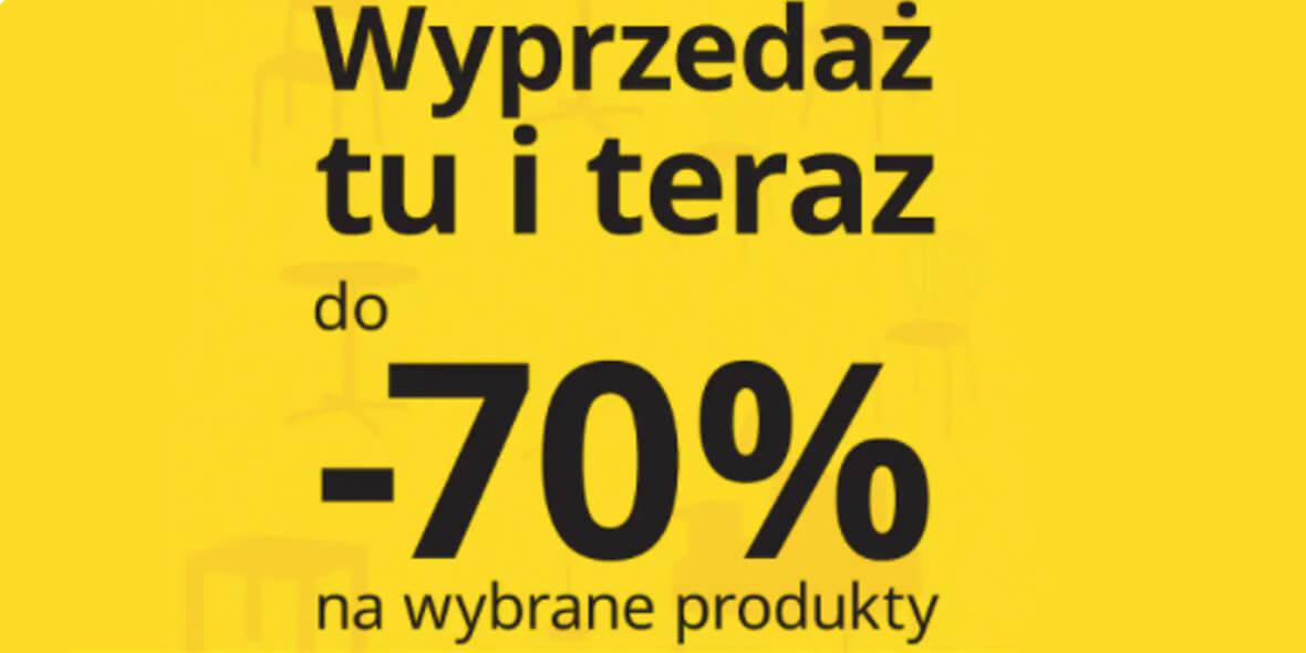 IKEA: Do -70% na wybrane produkty