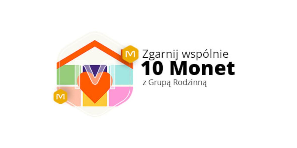 Allegro: 10 Monet za członkostwo w Grupie Rodzinnej 17.09.2021