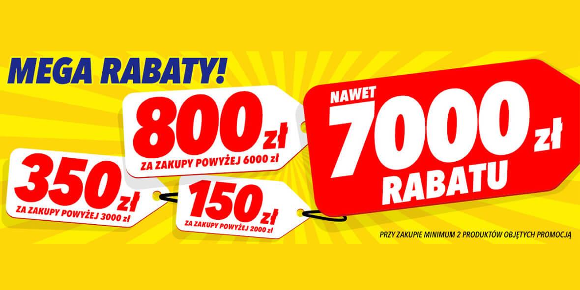 Media Expert: Do -7000 zł przy zakupie min. 2 produktów z kodem 01.10.2021