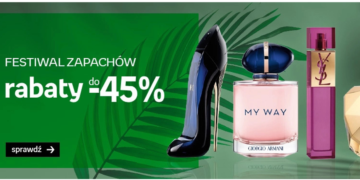 Empik: Do -45% na bestsellerowe perfumy 31.07.2021
