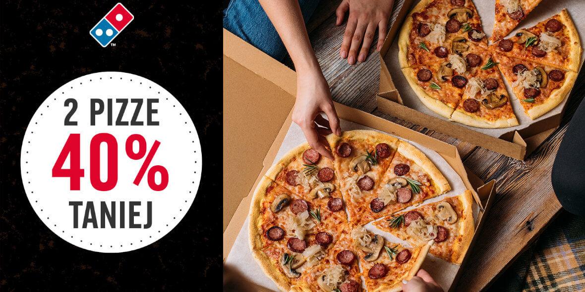 na dwie pizze